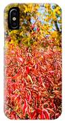 Autumn Flames IPhone Case