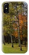 Autumn Forests And Fields IPhone Case