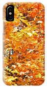 Autumn Fury IPhone Case
