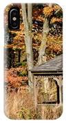 Autumn Gazebo IPhone Case