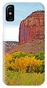 Autumn Gold On Highway 211 Going Into Needles District Of Canyonlands National Park-utah   IPhone Case