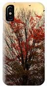 Autumn Goodbyes IPhone X / XS Case