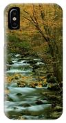 Autumn Greenbriar Cascade IPhone Case