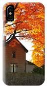 Autumn Haunt IPhone Case