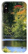 Autumn Highlights On The Quinnebaug River IPhone Case