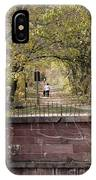 Autumn Hike On The C And O Canal Towpath At Seneca Creek IPhone Case