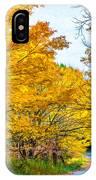 Autumn Hike - Paint IPhone Case