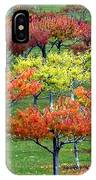 Autumn Hillside Orchard IPhone Case