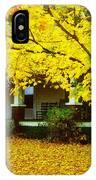 Autumn Homestead IPhone Case