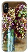 Autumn Hydrangeas Photoart IPhone Case