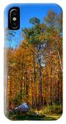 Autumn In North River New York IPhone Case