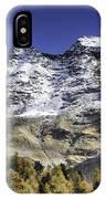 Autumn In The Alps 1 IPhone Case