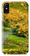 Autumn In The Garden IPhone Case