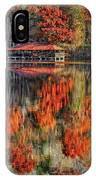 Autumn In The Smokey's IPhone Case