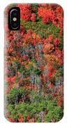 Autumn In The Wasatch Range IPhone Case