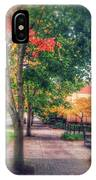Autumn In Vancouver Washington IPhone Case