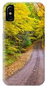Autumn Journey IPhone Case