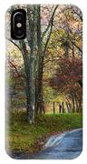 Autumn Lane  IPhone Case