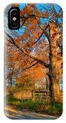 Autumn Lane Mpasto IPhone Case