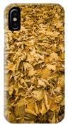 Autumn Leaf Background IPhone Case