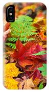 Autumn Leaf Salad IPhone Case