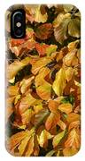 Autumn Leaves 83 IPhone Case