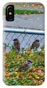 Autumn Lineup IPhone Case