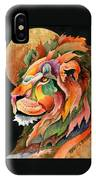 Autumn Lion IPhone Case
