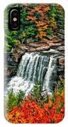 Autumn Magic Paint IPhone Case