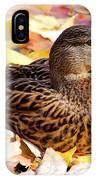 Autumn Mallard IPhone Case