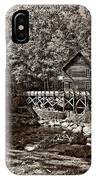 Autumn Mill Sepia IPhone Case