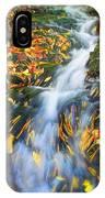 Autumn Mountain Stream IPhone Case