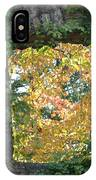 Autumn Naturally Framed IPhone Case