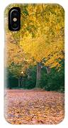 Autumn - New York City - Fort Tryon Park IPhone Case
