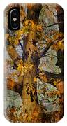 Autumn Oaks In Dance Mode IPhone Case