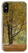 autumn on Moenchsberg in Salzburg IPhone Case