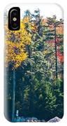 Autumn On The Fulton Chain Of Lakes In The Adirondacks II IPhone Case