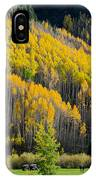 Autumn On The Links IPhone Case