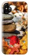 Autumn On The Rocks IPhone Case