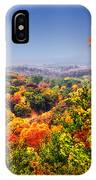 Autumn Over The Rolling Hills IPhone Case