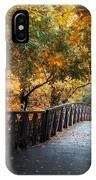 Autumn Overpass IPhone Case