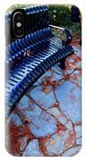 Autumn Park Benches IPhone Case