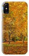 Autumn Park IPhone Case