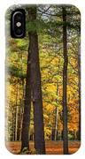 Autumn Pines Square IPhone Case