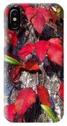Autumn Poison Ivy IPhone Case