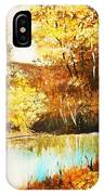 Changing Of The Season IPhone Case