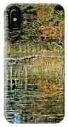 Autumn Pond Scene IPhone Case