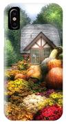 Autumn - Pumpkin - This Years Harvest Was Awesome  IPhone Case