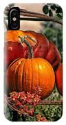 Autumn Pumpkins IPhone Case
