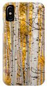Autumn Quaking Aspen IPhone Case